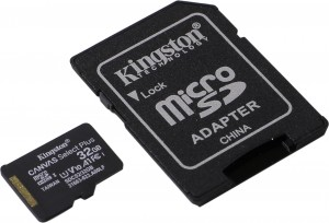 Карта памяти KINGSTON Canvas Select Plus microSD 32GB (Class 10) A1 (100 Mb/s) с адаптером BL1 фото