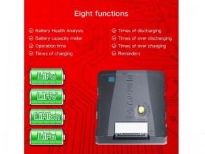 Многофункциональный прибор G.T.Power для проверки и обслуживания аккумуляторных батарей фото