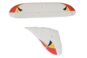 vertical tail and horizonal tail set фото