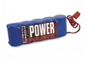Аккумулятор бортовой TRAXXAS RX Power Pack NIMh 6.0V 5cell 1100 mAh (HiTec/Futaba/JR) фото
