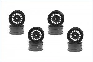 Aero 24 Wheel(15-Spoke) Black 8pcs фото