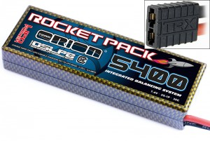 Аккумулятор Team Orion Rocket Pack IBS LiPo 7.4V 2S 30C 5400 mAh (TRAXXAS) фото