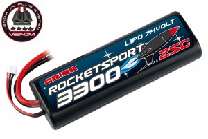 Аккумулятор Team Orion Rocket Sport LiPo 7.4V 2S 25С 3300 mAh (Tamiya,Deans,TRAXXAS,EC3) фото