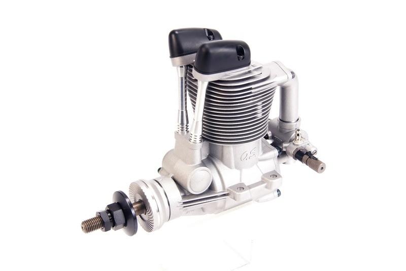 Четырехтактный двигатель с глушителем OS FS-95V (60PA) w/F-5050 фото