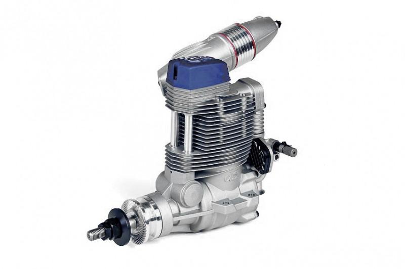 4-х тактный двигатель OS Max FSa-155-P с глушителем F-6020 для самолётов 120-200 класса фото