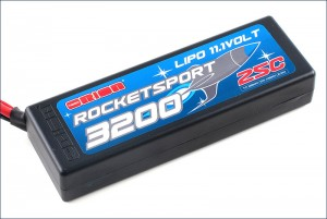 Аккумулятор Team Orion Rocket Sport LiPo 11.1V 3S 25С 3200 mAh (Tamiya, Deans, TRAXXAS, EC3) фото