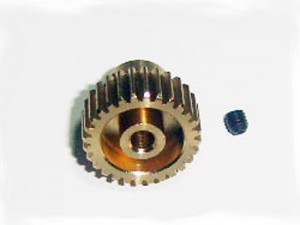 BS701-019R Motor gear 28T/M3 screw фото