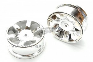 RH5224 Chromed Buggy Rims фото