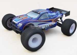 R0021 VRX-1 Truggy printed PC body (blue) фото