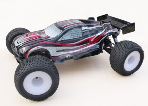 R0022 VRX-1 Truggy printed PC body (black) фото