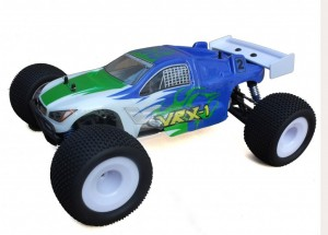 R0025 VRX-1 Truggy printed PC body (blue) фото