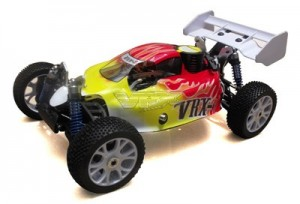 R0029 VRX-2 buggy printed PC body (yellow) фото