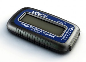 Тестер/балансир Li-Po батарей SkyRC (2-6S LiPo) фото