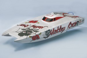 Радиоуправляемый катер Aquacraft Motley Crew Brushless FE Catamaran 2.4GHz фото
