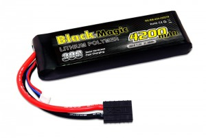 Аккумулятор Black Magic LiPo 7.4V 2S 30C 4200mAh (TRX) фото