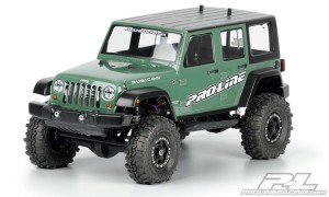 Неокрашенный кузов ProLine Jeep Wrangler Unlimited Rubicon 12.3