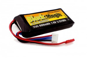 Аккумулятор Black Magic LiPo 7.4V 2S 25C 800mAh (JST) фото