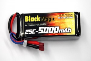 Аккумулятор Black Magic LiPo 14.8V 4S 25C 5000mAh (Deans) фото