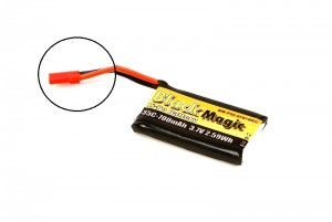 Аккумулятор Black Magic LiPo 3.7V 1S 35C 700mAh (JST/BEC) для LaTrax Alias фото