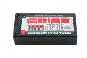 Аккумулятор Team Orion Carbon Pro LiPo 7.4V 2S 100C 4500mAh (разъем Tubes) фото