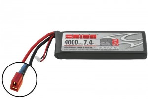 Аккумулятор Team Orion LiPo 7.4V 2S 50C 4000mAh (Deans) фото