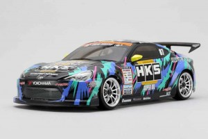 Неокрашенный кузов HK86BS HKS Racing Performer 86 для шоссейных дрифт моделей масштаба 1:10 фото