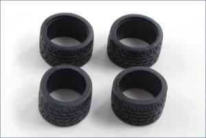 Широкая резина Radial Wide Tire для Kyosho Mini-Z фото