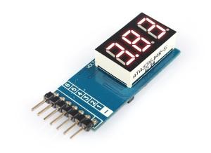 Индикатор напряжения для 6S Li-XX аккумуляторов фото