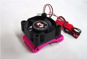 Alum. Motor Mount Heatsink with Fan Mount For Sakura D3 фото