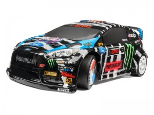 Кузов HPI Ken Block 2014 Ford Fiesta (WR8 Flux, Окрашен) фото