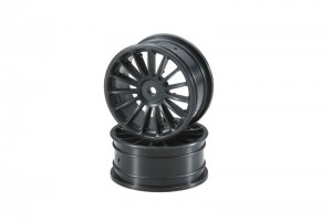 Wheel(15-Spoke/Black/24mm/2pcs) фото