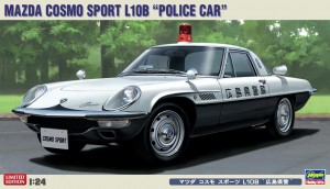 "Сборная модель автомобиля Mazda Cosmo Sport L10B ""Police Car"" Limited Edition 1:24 фото"