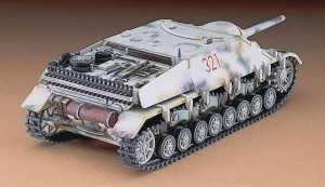 Сборная модель самоходной артиллерийской установки Sd.Kfz. Jagdpanzer IV L/48 Late Version 1:72 фото
