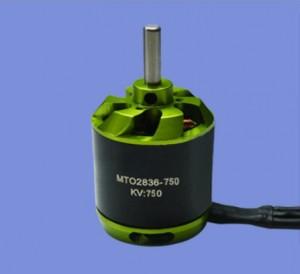 Электродвигатель бесколлекторный Maytech 2836 KV750 для авиамоделей фото