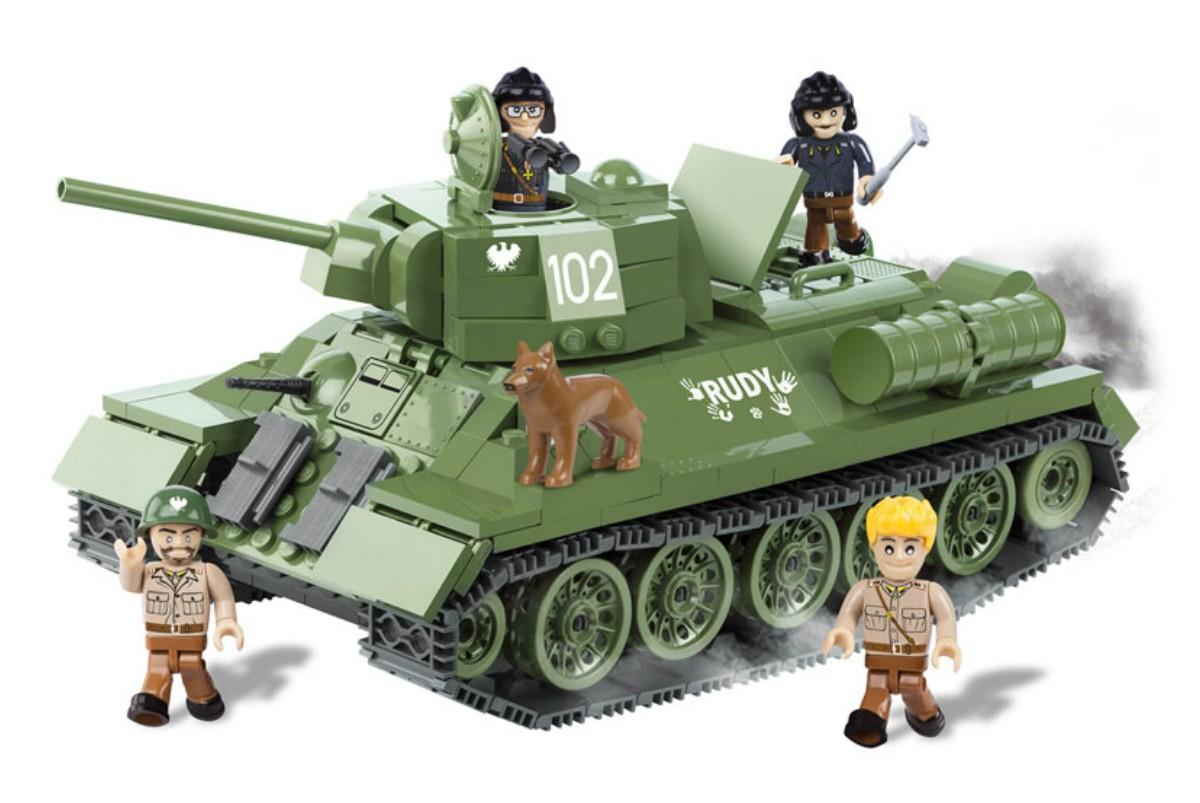 Конструктор cobi танк т-34