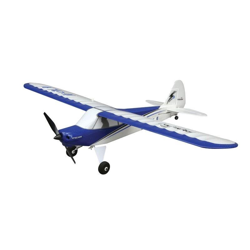 Радиоуправляемый самолет HobbyZone Sport Cub S 2 RTF c технологией Safe - HBZ44000