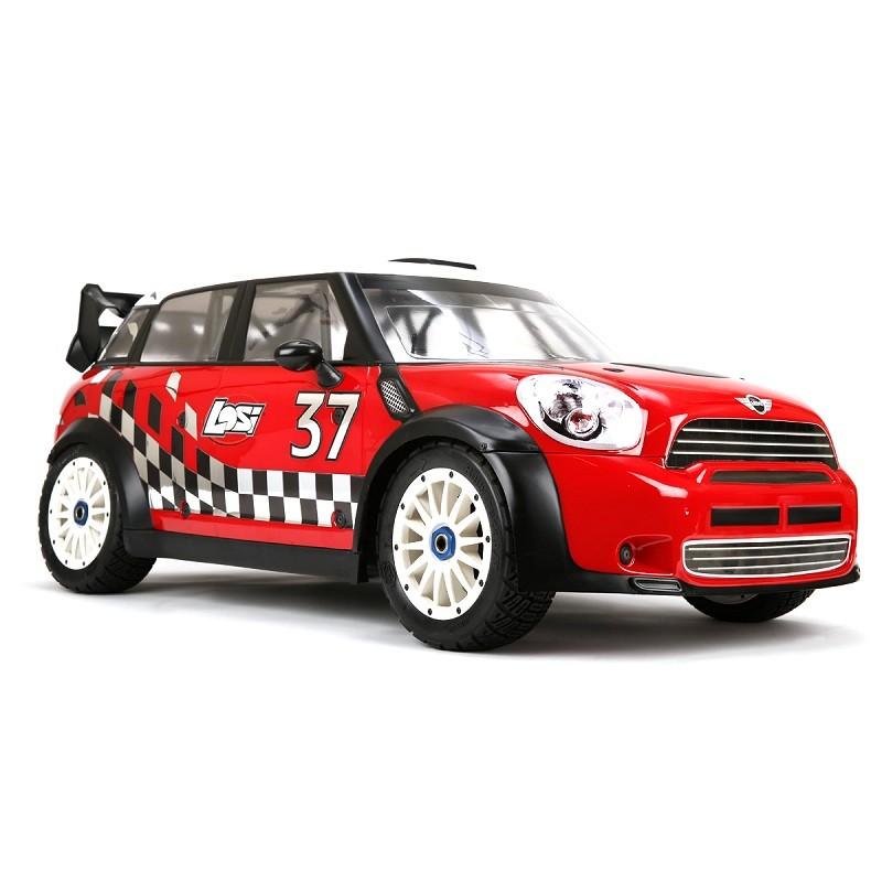 радиоуправляемая модель ралли Team Losi Mini Wrc 4wd Rtr 15 бензин