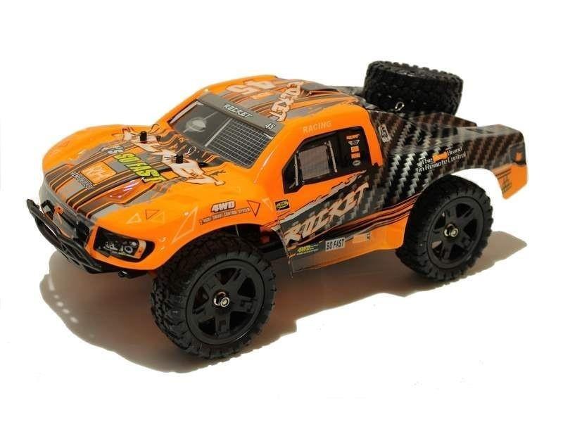 Радиоуправляемая модель Шорт-корс трака Remo Hobby Rocket Upgrade 4WD RTR 1:16 (б-к система) влаг. - RH1625UPG