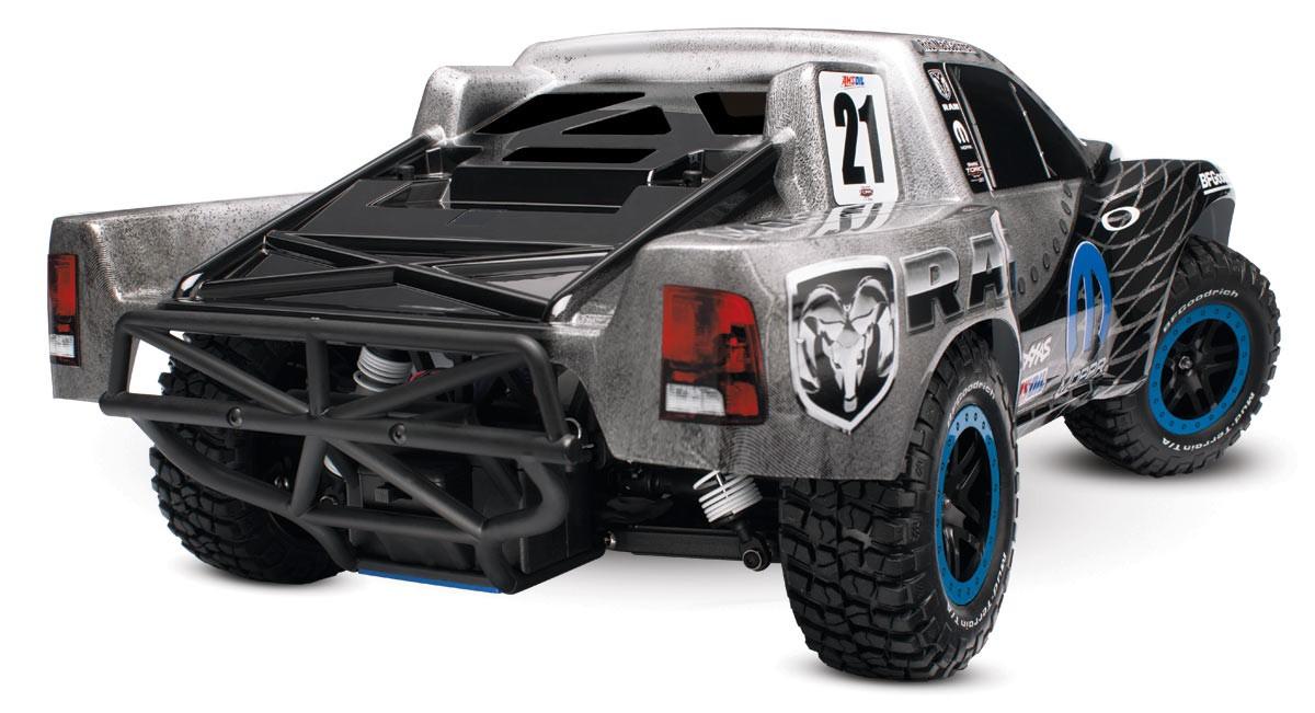 Радиоуправляемая модель Шорт-корс трака TRAXXAS Nitro Slash 2WD RTR 1:10