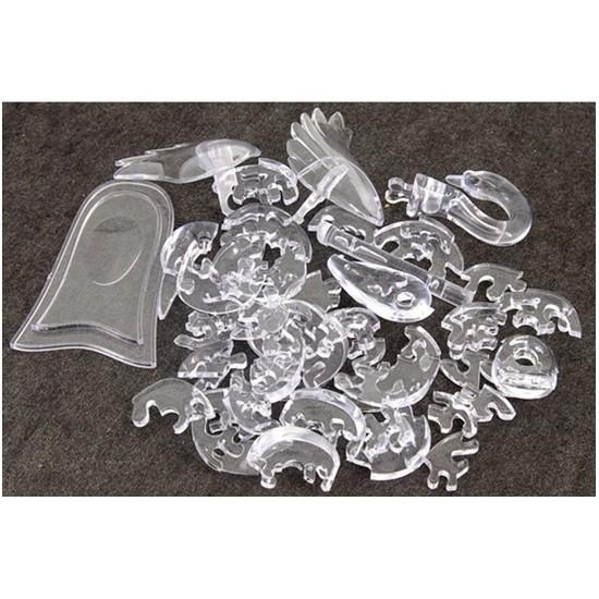 как собрать кристальный пазл лебедь инструкция