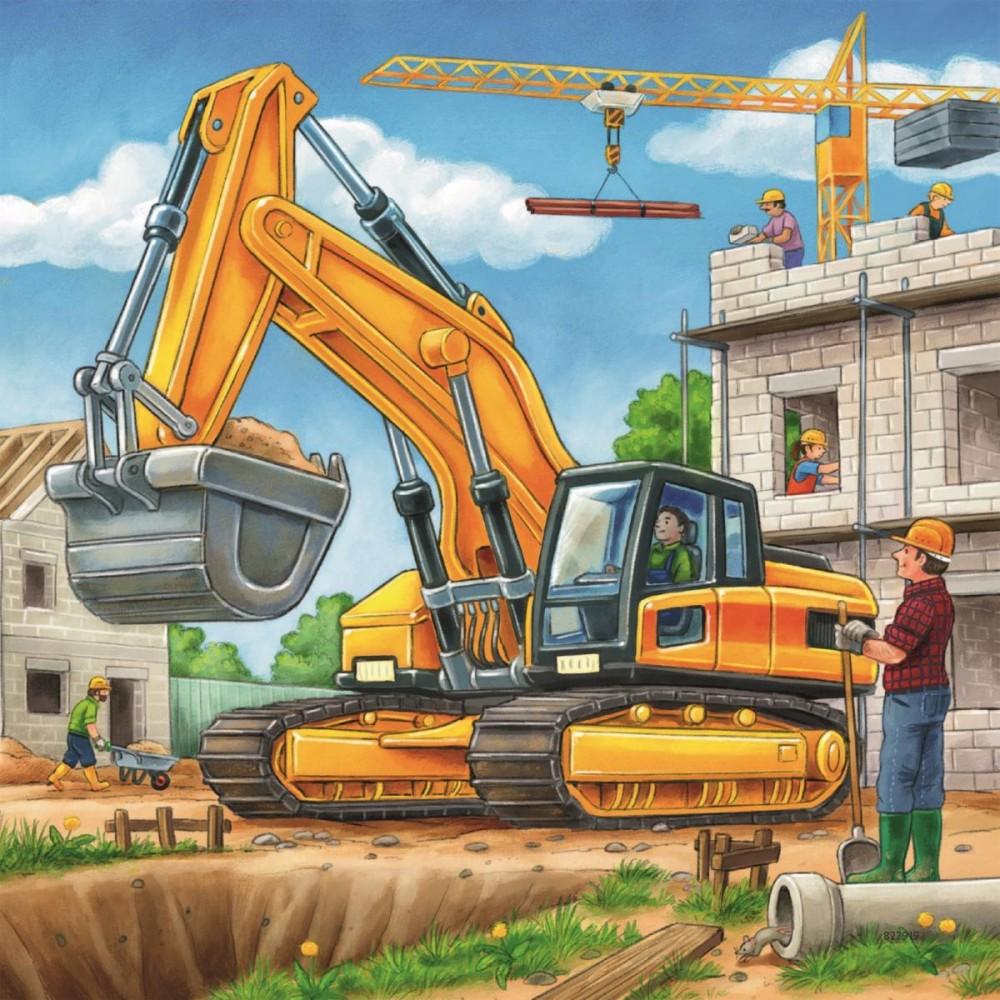 Картинки со строительной техникой для детей, ключом