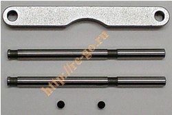 Machined Aluminum Hinge Pin Support Kit (Front) фото