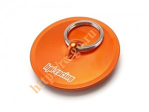 Крышка фильтра - Aluminum Air Filter Maintenance Cap (Orange) фото