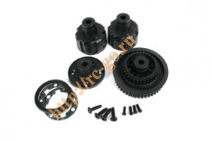 TM G4 Diff Case & Pulley Set фото
