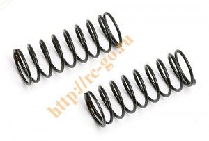 Пружины амортизаторов Micro Shock Spring, black, 4.00 lb, soft фото