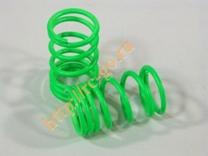 Пружины Shock Spring 13x29x1.6mm (Green/2pcs) фото