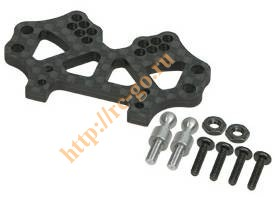 Front Graphite Shock Tower For RC18-R фото