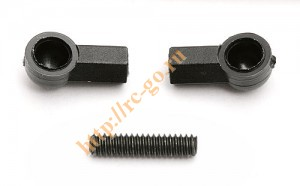 "Adjustable Servo Link. 4-40 X 1/2"" set screw with special plastic ball cups фото"