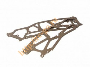 Super TVP Chassis 2.5mm Set (70755/Gray/1 Set) фото