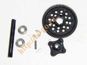 BS701-017 Central drive shaft/main gear/gear mount фото